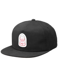RVCA Barry McGee Snapback Hat