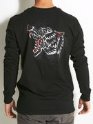RVCA Bert Wolf Longsleeve T-Shirt