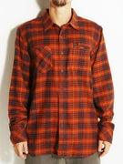 RVCA Bazz Plaid L/S Flannel Woven Shirt