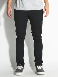RVCA Stapler Chino Curren Pants Black