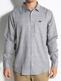 RVCA Curren Plaid L/S Woven Shirt