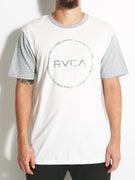 RVCA Circle Sketck S/S Baseball T-Shirt