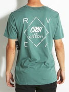 RVCA Cash Or Credit Vintage Pocket T-Shirt