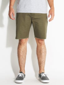 RVCA Dayshift Cutoff Shorts Burnt Olive
