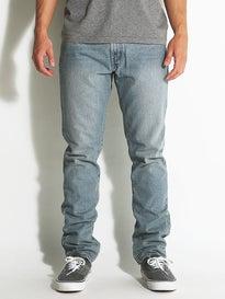 RVCA Daggers Denim Jeans  Vintage Bleach