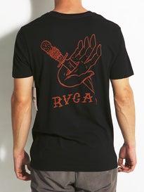 RVCA Dagger Hand Vintage Wash T-Shirt