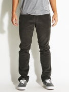 RVCA Daggers Cord Pants  Pirate Black