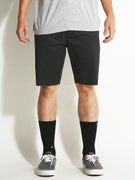 RVCA Dayshift Cutoff Shorts Pirate Black