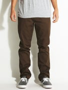 RVCA Dayshift Pants Chocolate