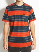 RVCA Diffide Stripe Crew Knit Shirt