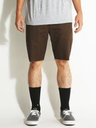 RVCA Dayshift Cutoff Shorts Chocolate