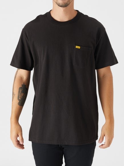 rvca day shift label t shirt