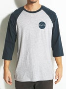 RVCA Dotty 3/4 Sleeve Baseball T-Shirt