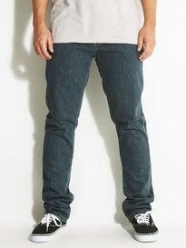 RVCA Daggers Denim Jeans  Vintage Blue