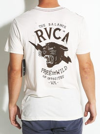 RVCA Free And Wild Vintage Dye T-Shirt