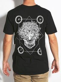 RVCA Flower Skull T-Shirt