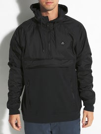 RVCA Function Zip Fleece Anorak-Jacket
