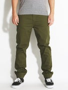 RVCA House Arrest Pants  Dark Military