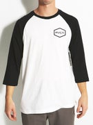 RVCA Hexed 3/4 Sleeve Baseball T-Shirt