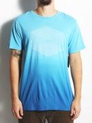 RVCA Hex Lines Dip Dye T-Shirt