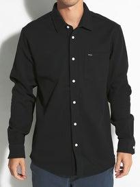 RVCA Keeper L/S Pique Woven Shirt