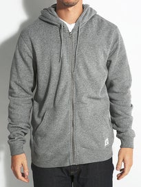 RVCA Label Sun Wash Hoodzip
