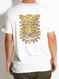 RVCA Leines Tiger Vintage Wash T-Shirt