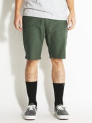 RVCA Marrow III Shorts  Jungle Green