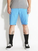 RVCA Marrow III Shorts  Blue Thunder