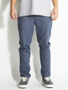 RVCA Mystic Elastic Pants Denim Blue