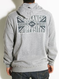 RVCA Matchbook Hoodzip