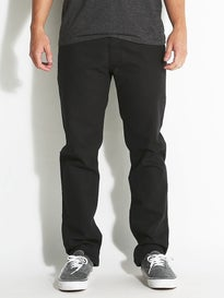 RVCA New Normal PVSH Fresh Denim Jeans Black
