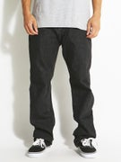 RVCA New Normal Denim Jeans Black Top