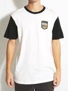 RVCA Plates S/S Baseball T-Shirt