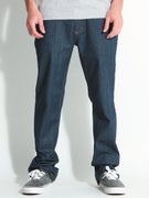 RVCA Regular Extra Stretch Denim Jeans  Classic Blue