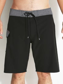 RVCA Register Trunk Boardshorts Black