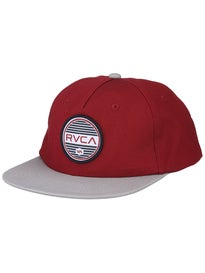 RVCA Rounds Snapback Hat
