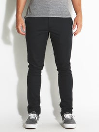 RVCA Stapler Chino Curren Edition Pants  Black
