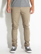RVCA Stapler Chino Curren Edition Pants  Dk. Khaki