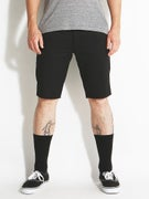 RVCA Stapler Chino Shorts  Black