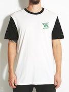 RVCA Script VA S/S Baseball T-Shirt