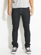 RVCA Spanky Denim Jeans  Deep Indigo