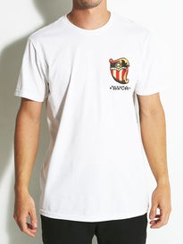 RVCA Stripe Shield T-Shirt