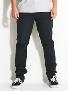 RVCA Slashers Denim Jeans  Dark Night