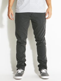 RVCA Slashers Denim Jeans  Grey Fade