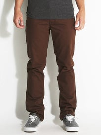 RVCA Stay RVCA Denim Jeans Chocolate