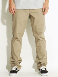 RVCA Stay RVCA Pants  Dark Khaki