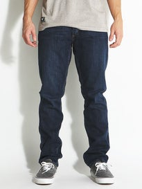 RVCA Stay RVCA Denim Jeans Vivid Blue
