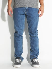 RVCA Stay RVCA Denim Jeans Light Blue