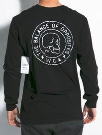 RVCA Skull Seal L/S T-Shirt